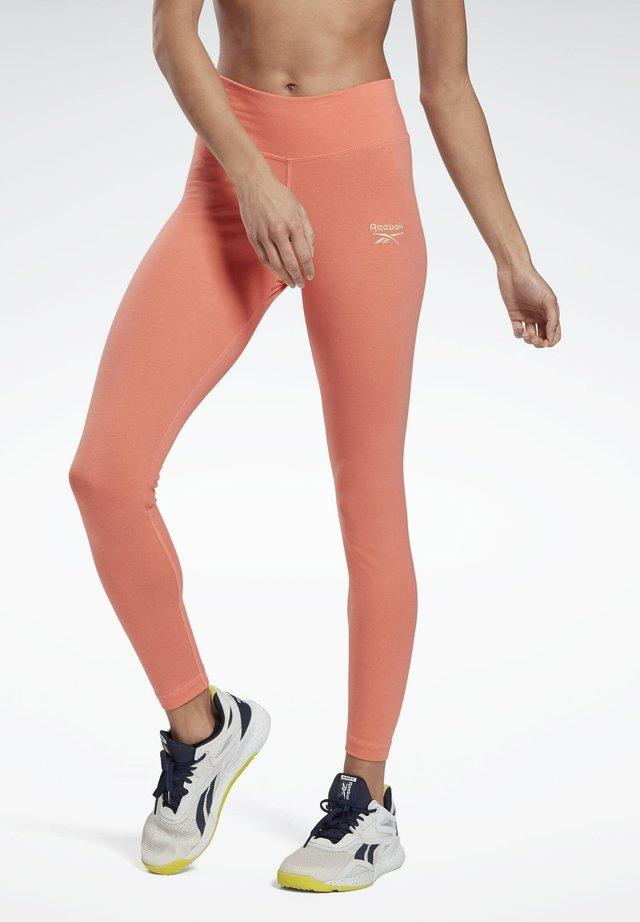 REEBOK IDENTITY LEGGINGS - Collant - red