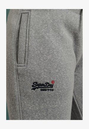 ORANGE LABEL - Tracksuit bottoms - grey snowy