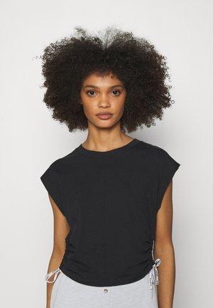 LOGO TIES - Pyjama top - black