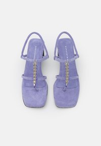 Dorateymur - NARCISSIST THONG  - T-bar sandals - violet - 4