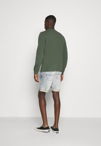Nudie Jeans - JOSH - Denim shorts - light glow