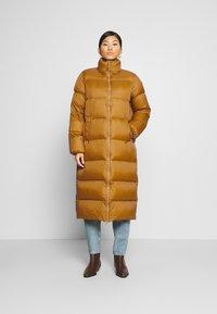 Part Two - EDLA - Down coat - bronze brown - 0