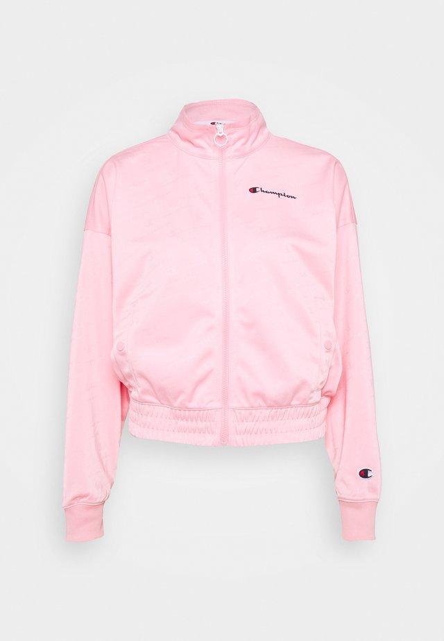 FULL ZIP - Bombertakki - pink