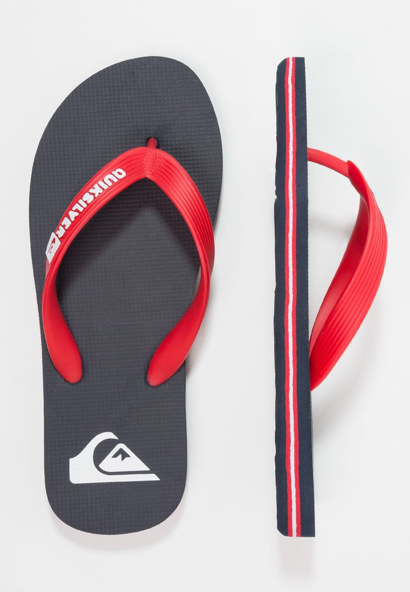 Quiksilver - Pool shoes - blue/red