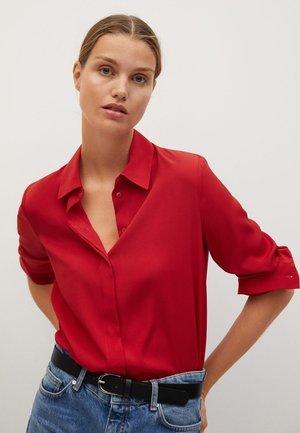 BASIC - Camicia - červená
