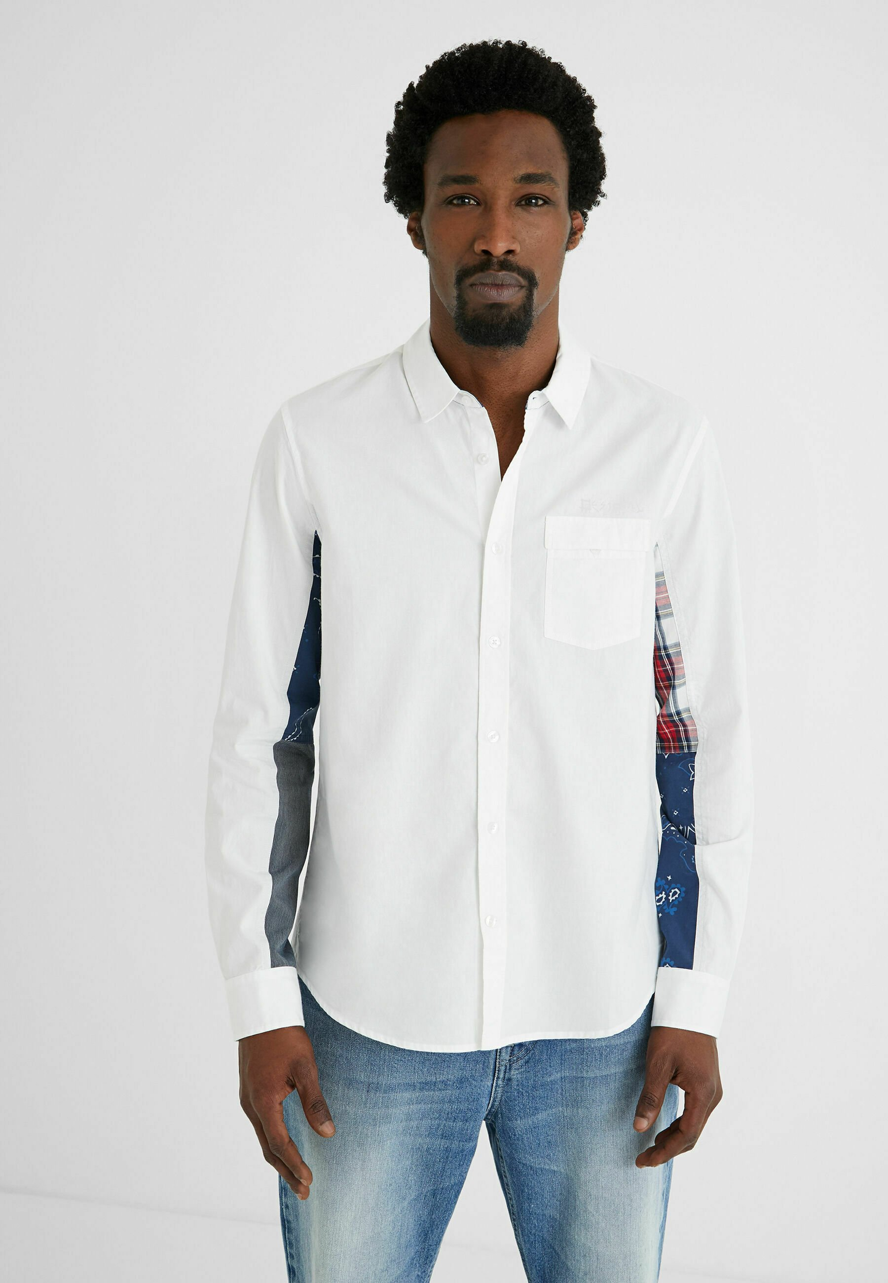 Homme SLEEVES PATCH PRINT - Chemise
