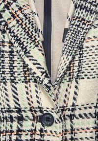 Cecil - MIT KAROMUSTER - Classic coat - orange - 4