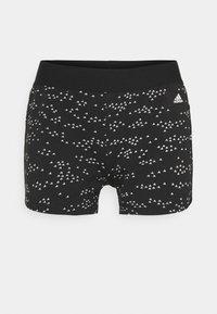 adidas Performance - SHORT - Leggings - black/white - 4