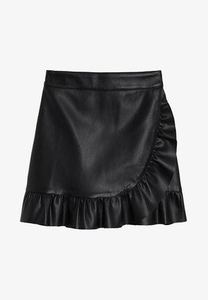 NOE - Wrap skirt - schwarz