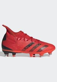 adidas Performance - PREDATOR FREAK - Moulded stud football boots - red - 6