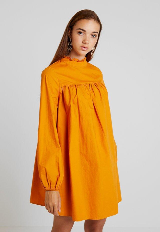 SHOMKA - Day dress - saffron