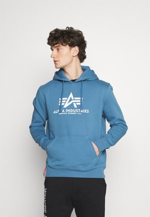 BASIC HOODY - Collegepaita - airforce blue