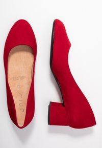 Unisa Wide Fit - Classic heels - chilli - 3