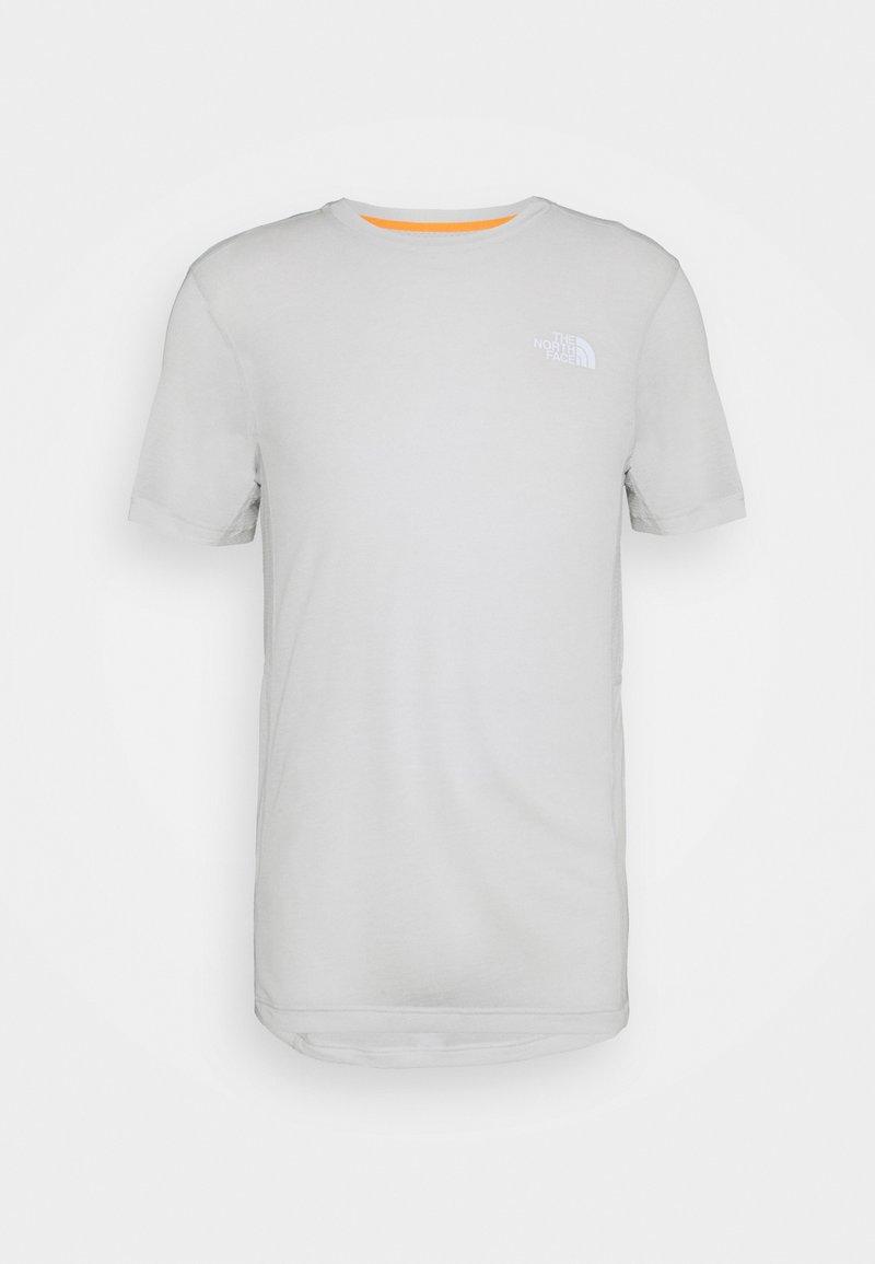 The North Face - CIRCADIAN TEE - Print T-shirt - grey white heather/tin grey