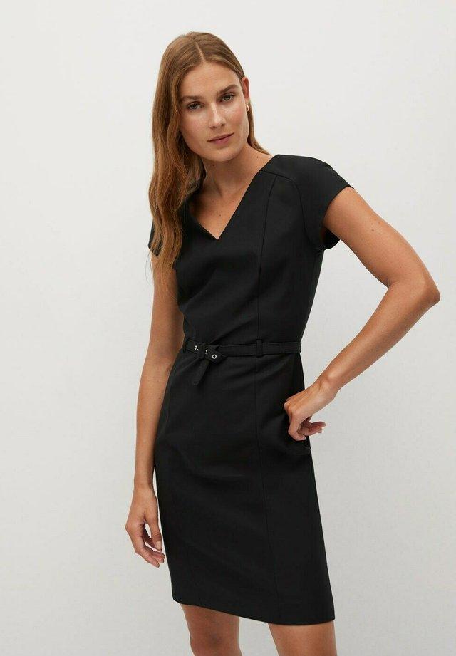 COFI7-N - Sukienka koktajlowa - schwarz