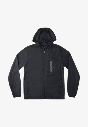 DAGUP RIPSTOP PACKABLE - Waterproof jacket - black
