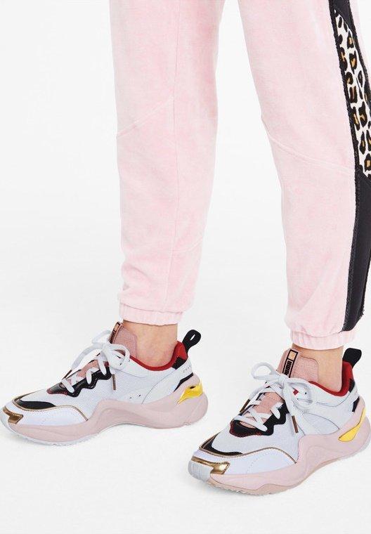 CHARLOTTE OLYMPIA RISE  - Sneaker low - puma white