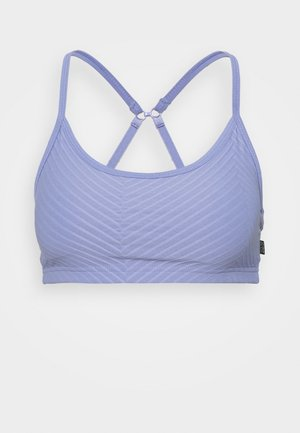 WORKOUT YOGA CROP - Light support sports bra - periwinkle
