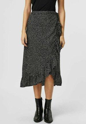 VMHENNA  - A-line skirt - black