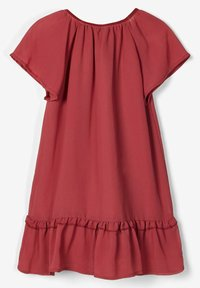 Name it - Day dress - earth red - 1