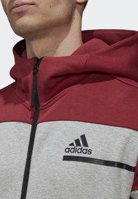 adidas Performance - Zip-up hoodie - grey - 2