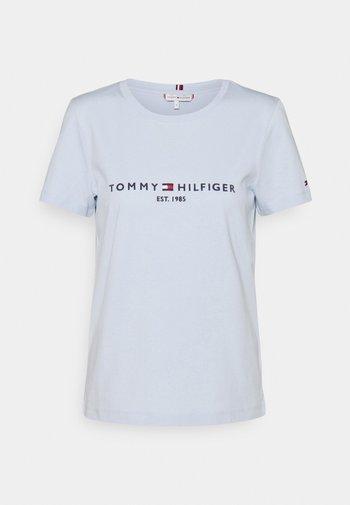 REGULAR HILFIGER TEE  - T-shirts - blue