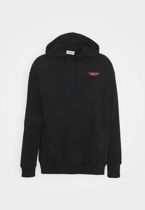 UNISEX - Felpa con cappuccio - black