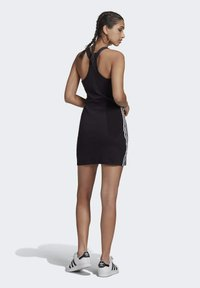 adidas Originals - RACER DRESS - Jersey dress - black - 2