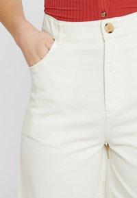 Monki - NAZIR - Denim shorts - offwhite - 4