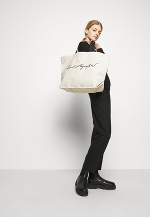 EXCLUSIVE SIGNITURE - Shopping Bag - off-white