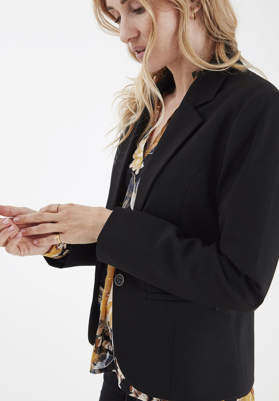 PULZ Blazer - black beauty - Women's winter clothes LPEiC