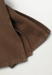 Mango - Straight leg jeans - brown - 6