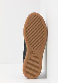 Lacoste - CHALLENGE - Sneakersy niskie - black - 4