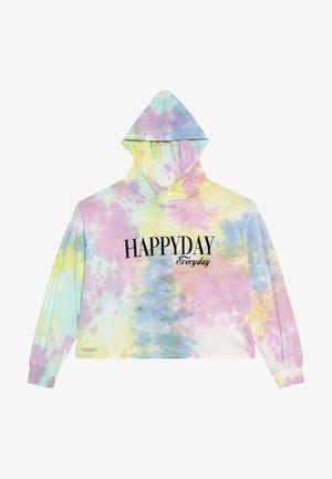 GIRLS BOXY HOODIE - Hoodie - pastel batik