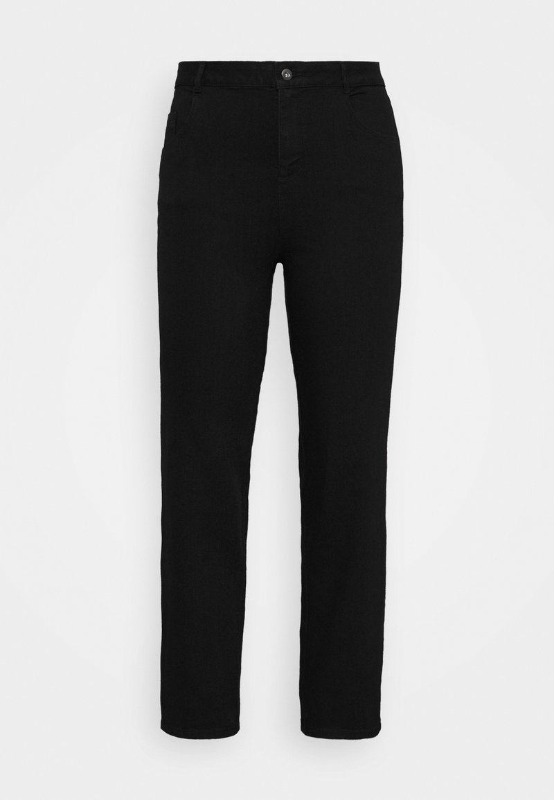 Dorothy Perkins Curve - ELLIS - Slim fit jeans - black