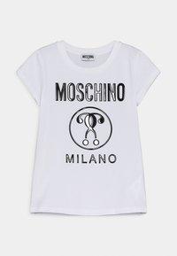MOSCHINO - Print T-shirt - optic white - 0