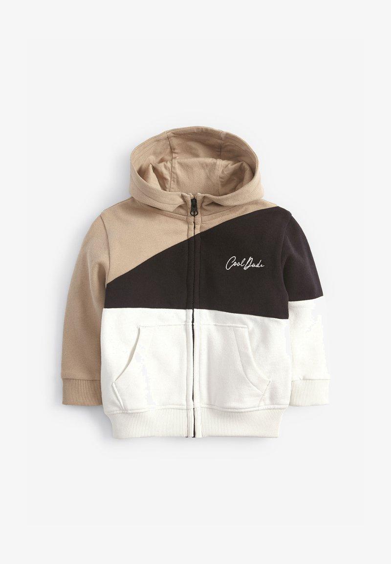 Next - Zip-up hoodie - beige