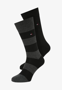 Tommy Hilfiger - 2 PACK - Socks - black - 0