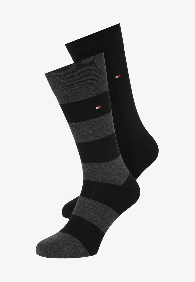 Tommy Hilfiger - 2 PACK - Socks - black