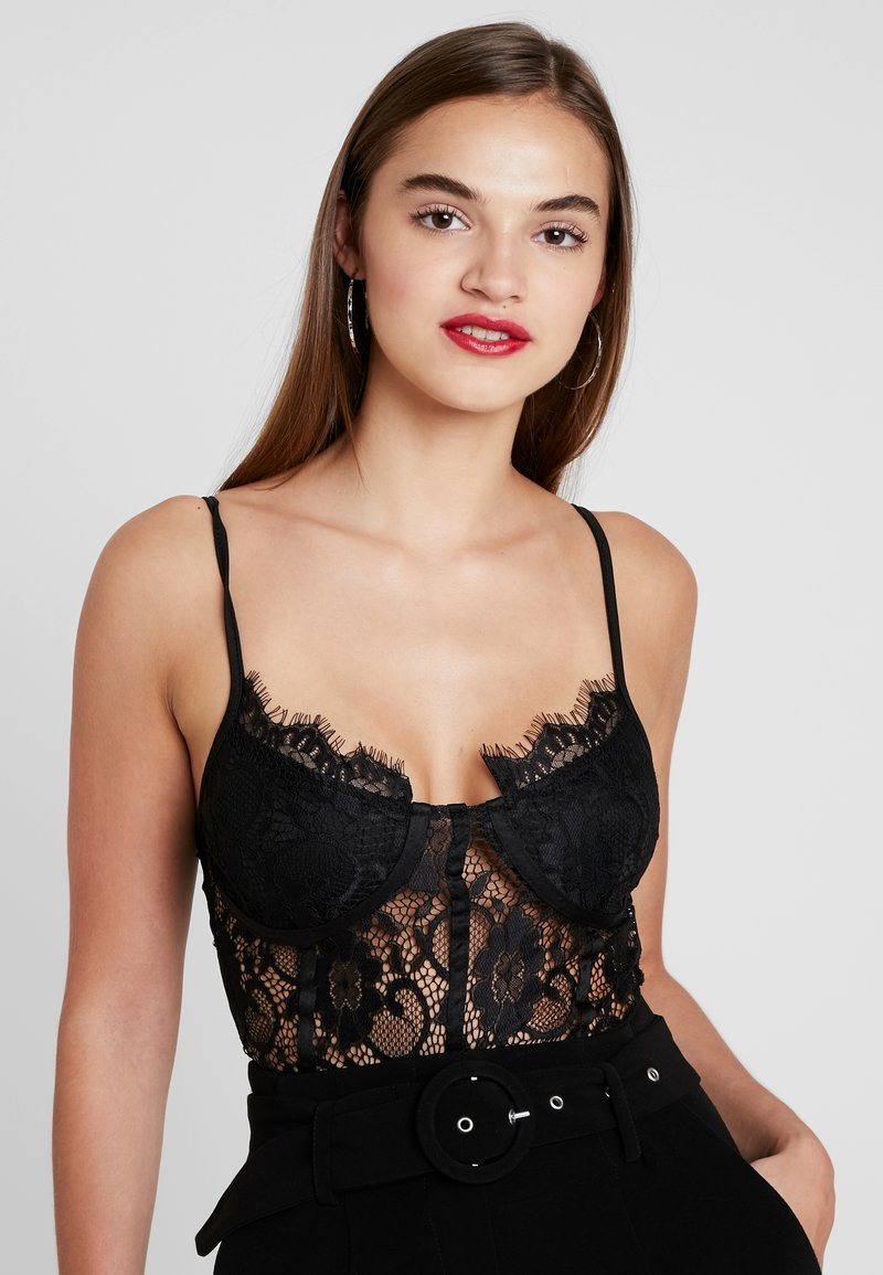 Missguided - STRAPPY - Body - black