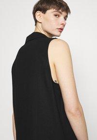 Cotton On - VICKY VEST DRESS - Vestido camisero - black - 3