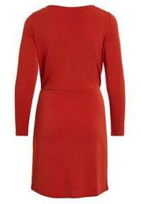 Vila - VICLASSY - Day dress - red - 1