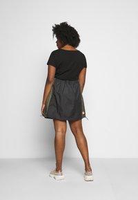 Nike Sportswear - SKIRT - A-line skirt - black/twilight marsh - 2