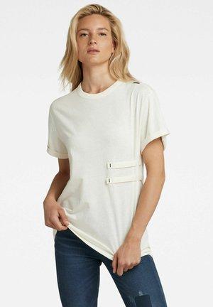 TAPE TEE  - T-shirt print - milk