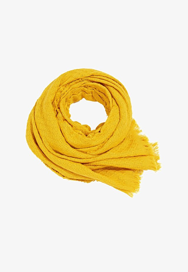 FASHION - Scarf - brass yellow