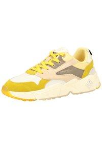 GANT - Sneakers basse - yellow/beige - 4