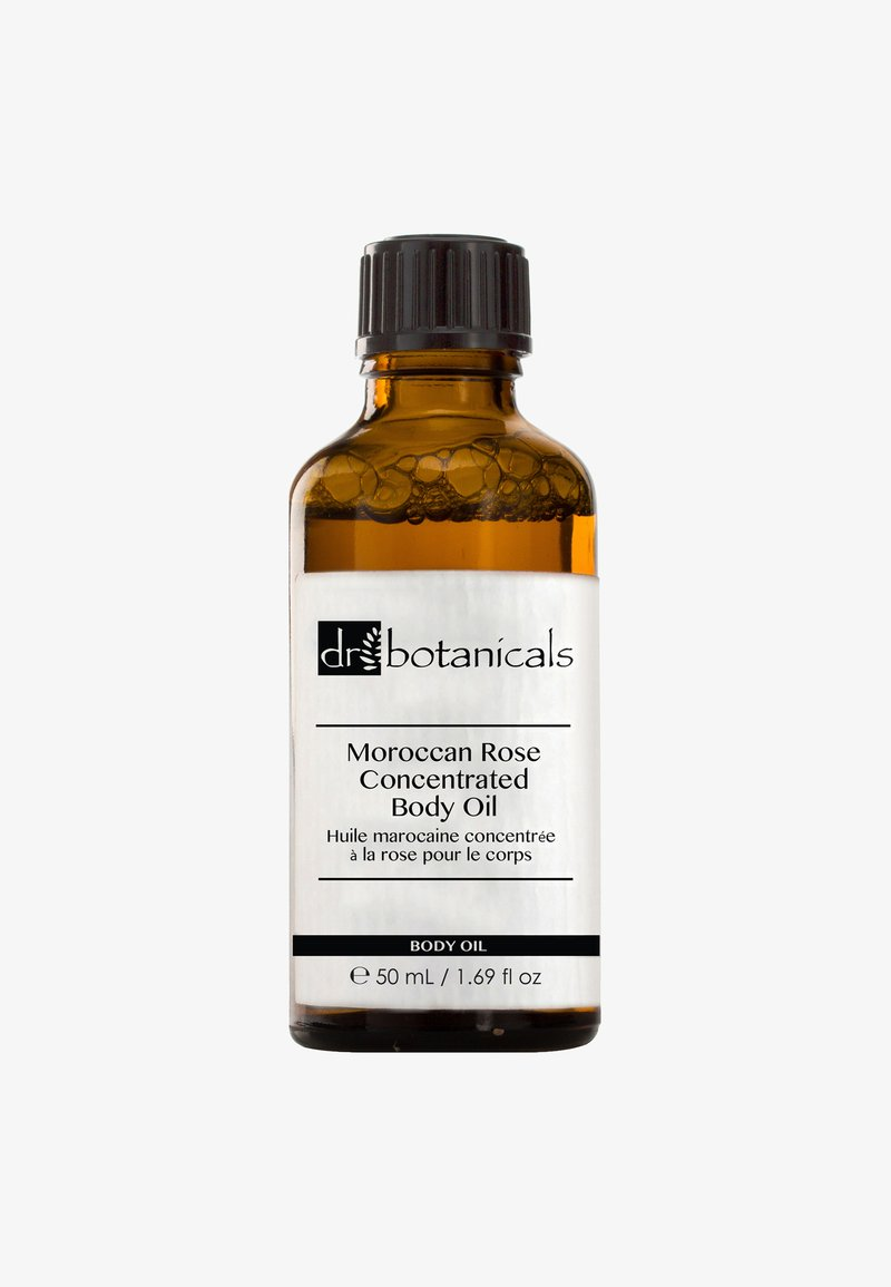 Dr Botanicals - MOROCCAN ROSE CONCENTRATED BODY OIL 50ML - Lichaamsolie - -