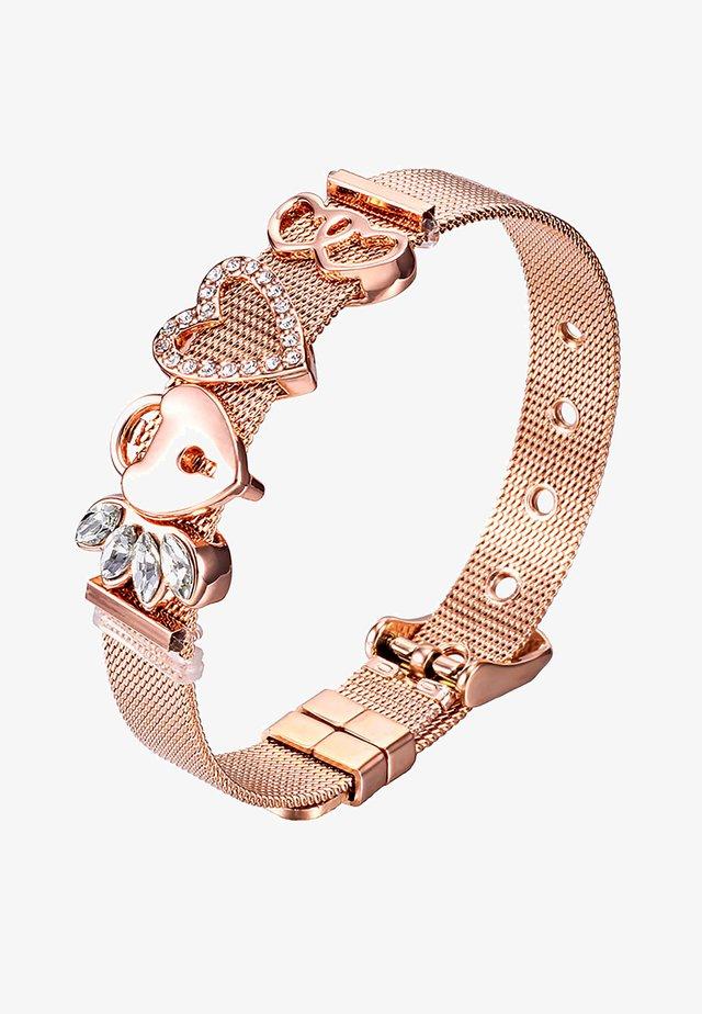 ARMBAND MESH - Armband - rosegoldfarben