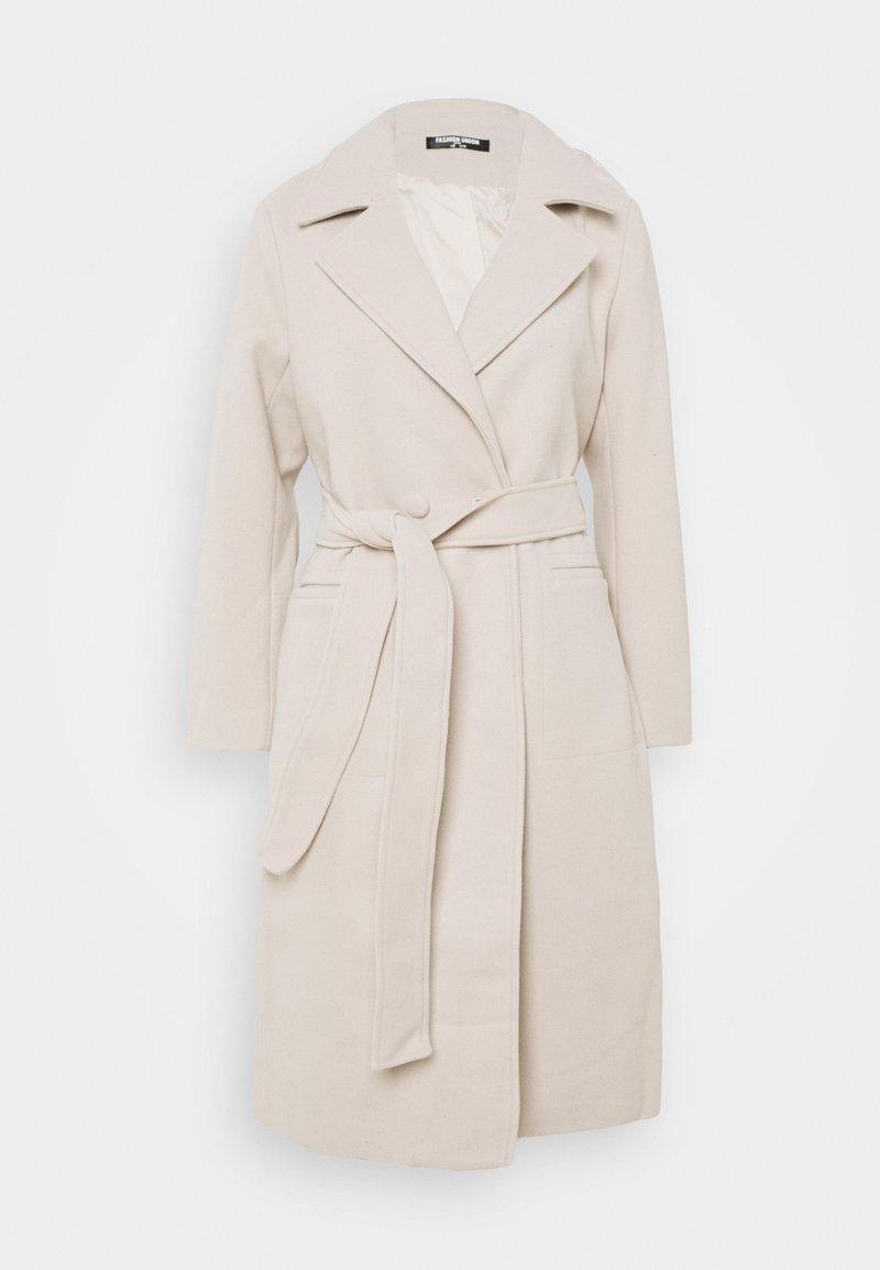 Fashion Union Petite - DELPHINE - Classic coat - cream
