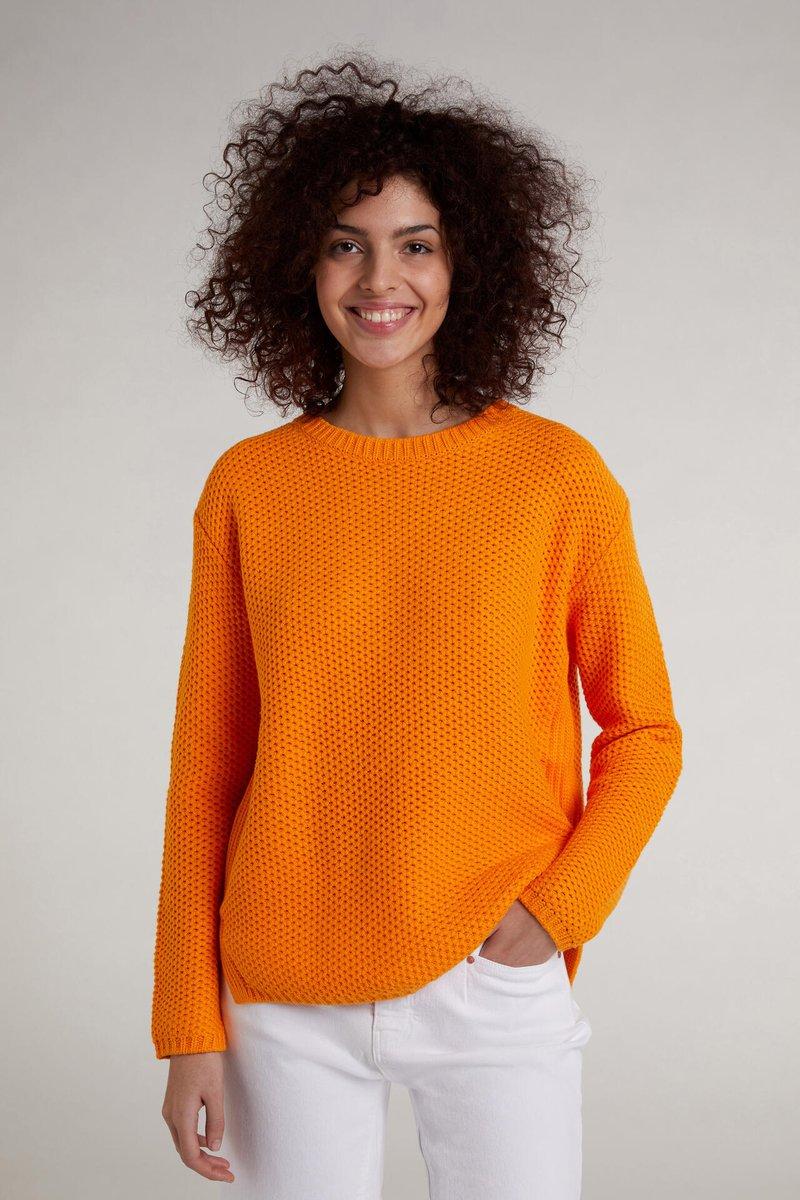 Oui - Jumper - flame orange